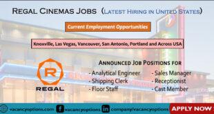 Regal Cinemas Jobs