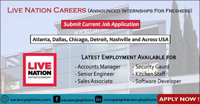 Live Nation Careers