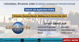 Universal Studios Jobs