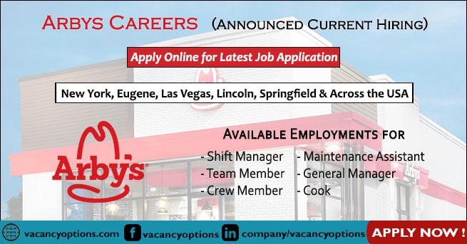 Arbys Careers