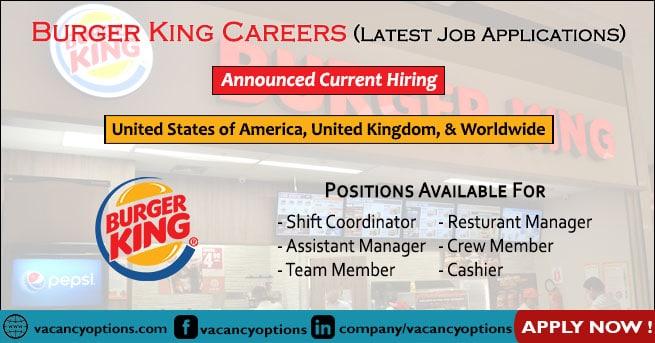 Burger King Careers