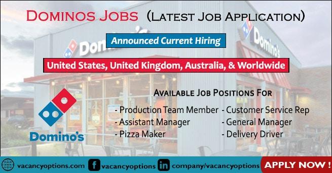 Dominos Jobs