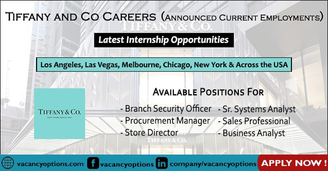 Tiffany and Co Careers